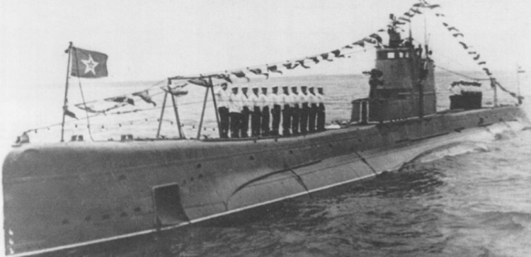 Подводная лодка «Щ-302» (Окунь)
