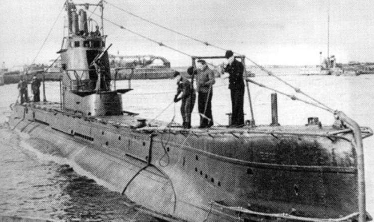 Подводная лодка «Щ-303» (Ерш)