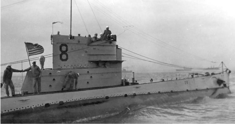 Подводная лодка «O-8» (SS-69)