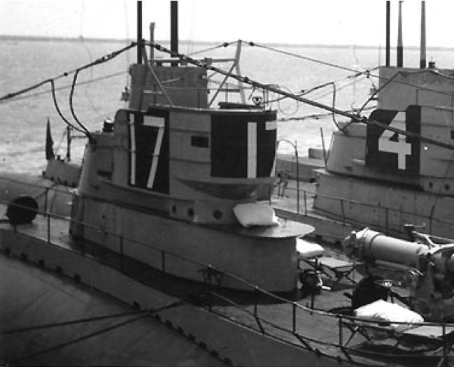 Подводная лодка «S-17» (SS-122)