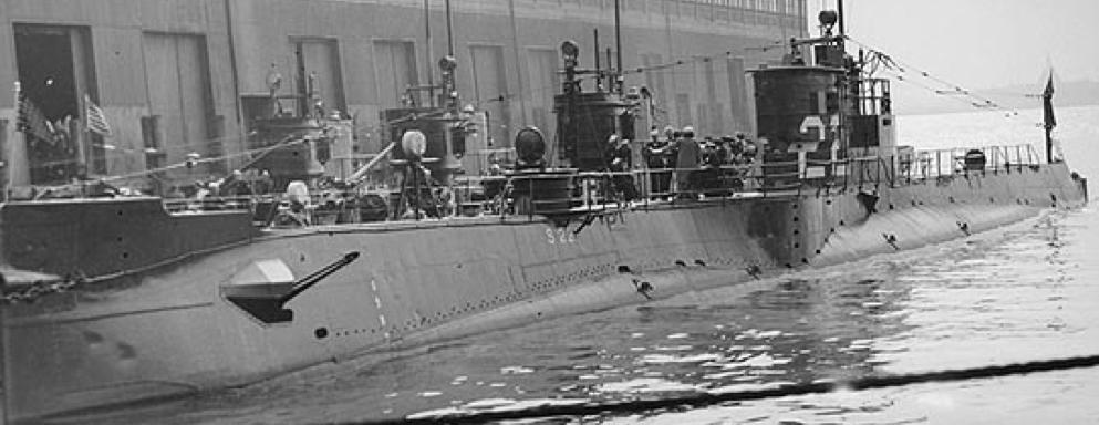 Подводная лодка «S-22» (SS-127)
