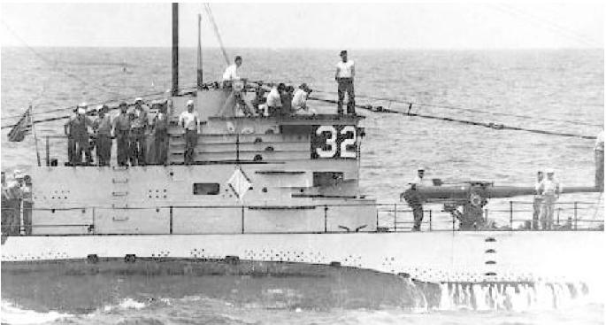 Подводная лодка «S-32» (SS-137)