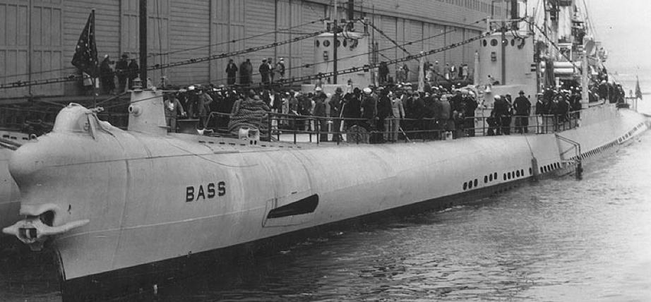 Подводная лодка «Bass» (SS-164)