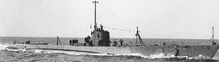 Подводная лодка «Dolphin» (SS-169)