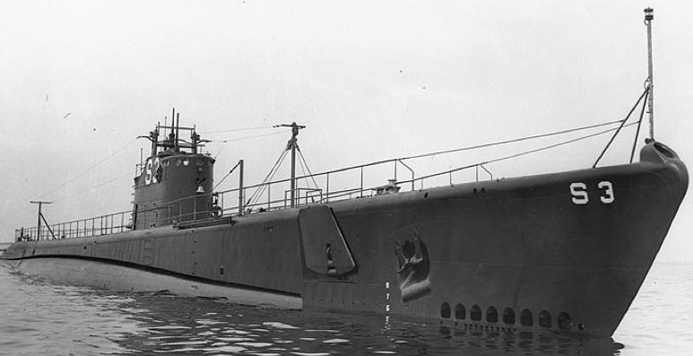 Подводная лодка «Skipjack» (SS-184)