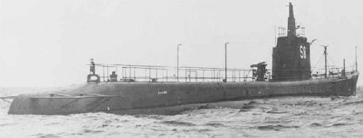 Подводная лодка «Saury» (SS-189)
