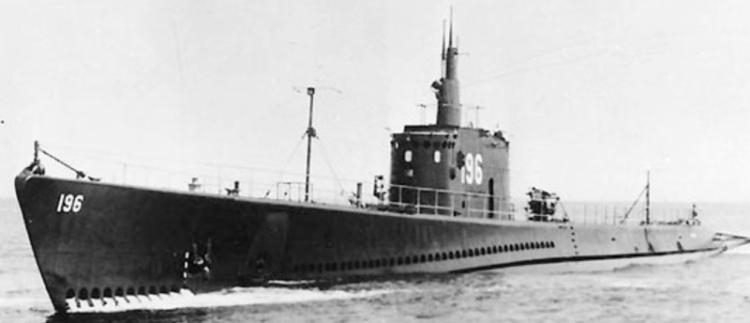 Подводная лодка «Searaven» (SS-196)