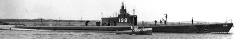 Подводная лодка «Tambor» (SS-198)