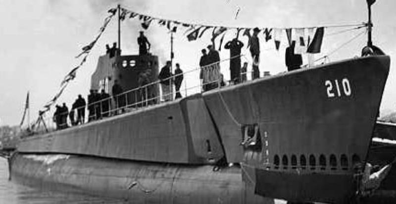 Подводная лодка «Grenadier» (SS-210)