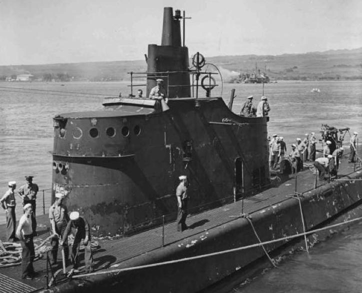 Подводная лодка «Trout» (SS-202)