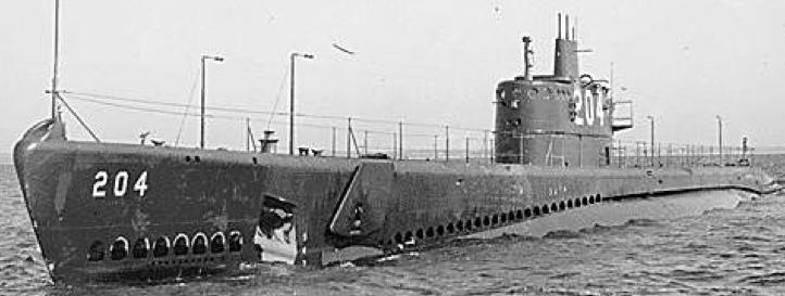 Подводная лодка «Mackerel» (SS-204)