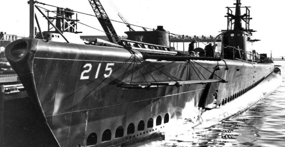 Подводная лодка «Growler» (SS-215)