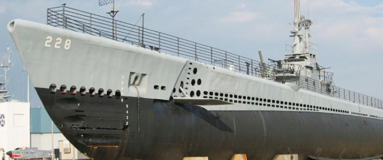 Подводная лодка «Drum» (SS-228)