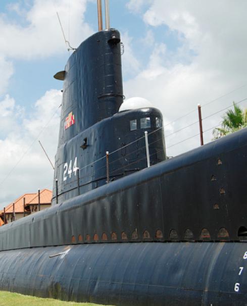 Подводная лодка «Cavalla» (SS-244)