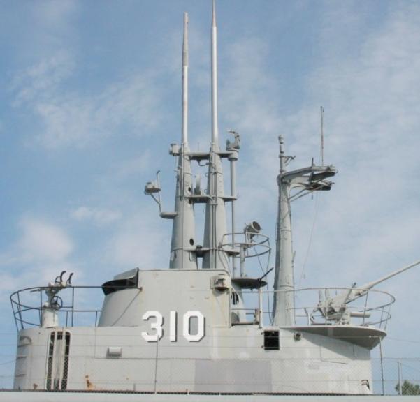 Корпус подводной лодка «Batfish» (SS-310)