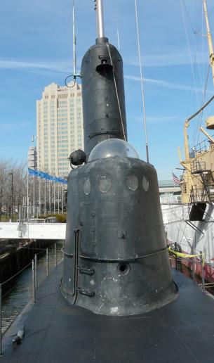 Рубка подводной лодка «Batfish» (SS-310)