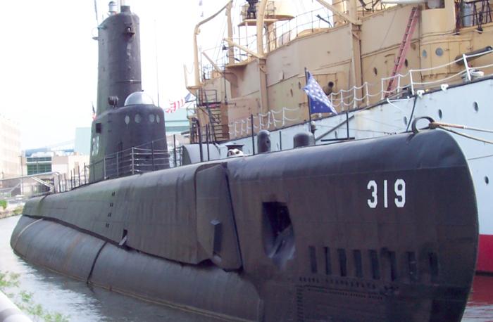 «Подводная лодка «Becuna» (SS-319)»