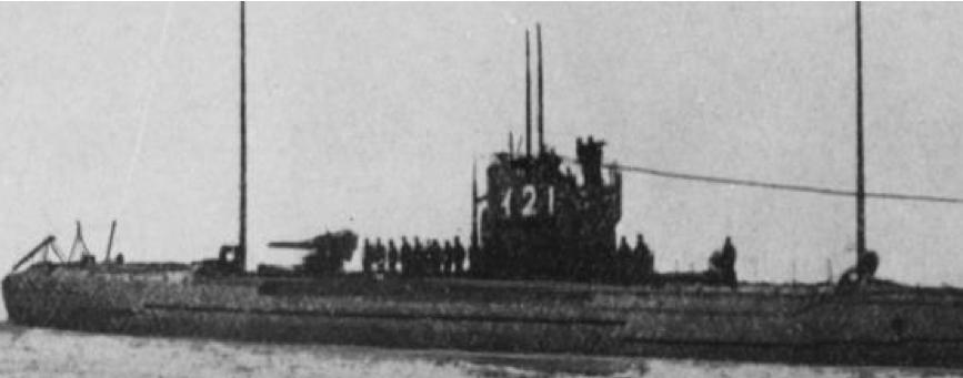 Подводная лодка «I-21»