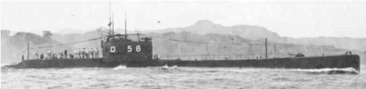 Подводная лодка «RO-58»