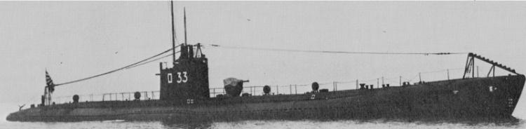 Подводная лодка «RO-33»