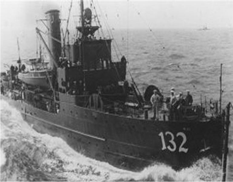 Тральщик «М-132»