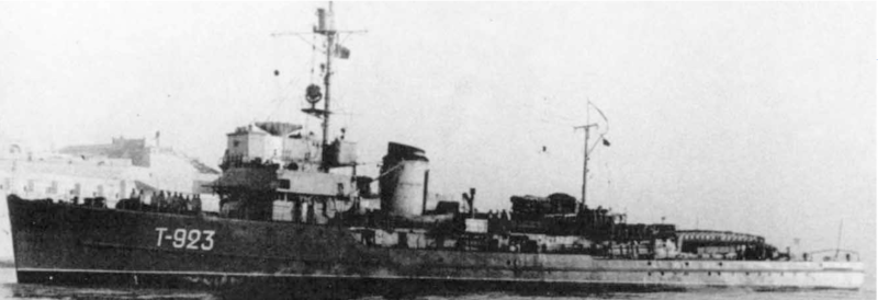 Тральщик «М-256»