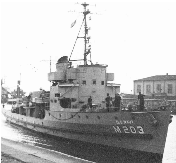Тральщик «М-388»