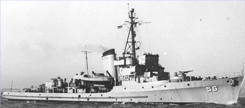 Тральщик «М-611»