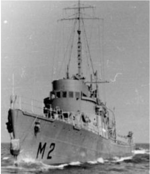 Тральщик «Sobjornen» (М-2)