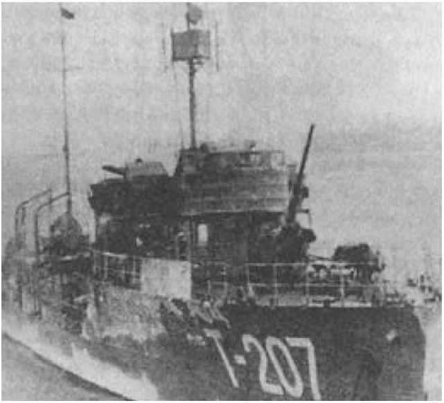 Тральщик «Т-207» (Шпиль)
