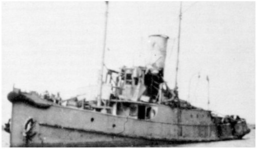 Тральщик «Т-487» (Очаковский канал)