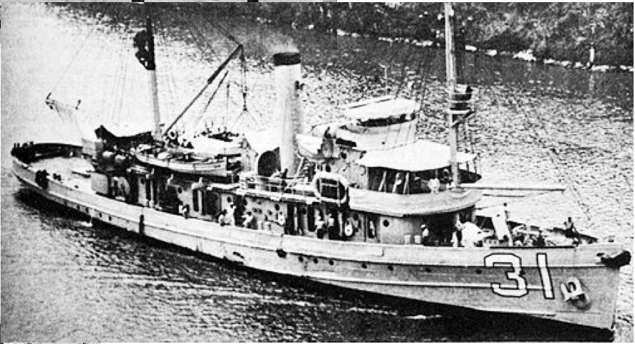 Тральщик «Tern» (АМ-31)