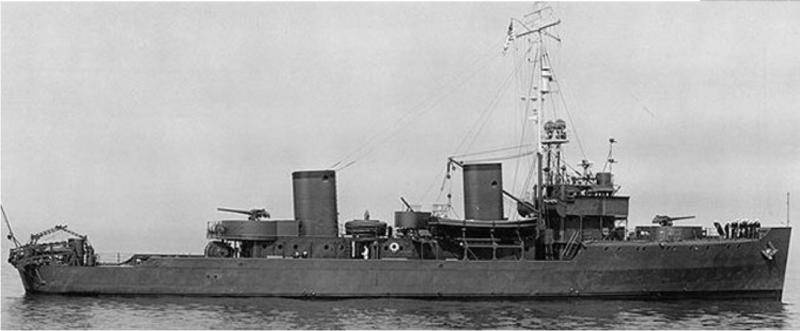 Тральщик «Osprey» (АМ-56)