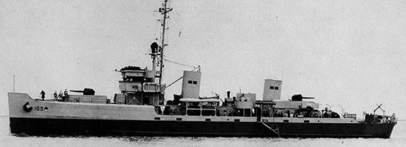 Тральщик «Pioneer» (АМ-105)