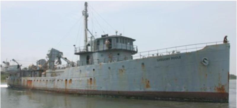 Корпус тральщика «Cruise» (АМ-215)
