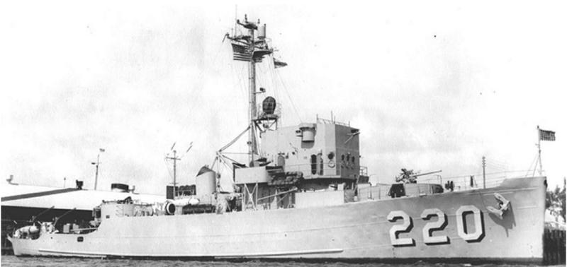 Тральщик «Device» (АМ-220)