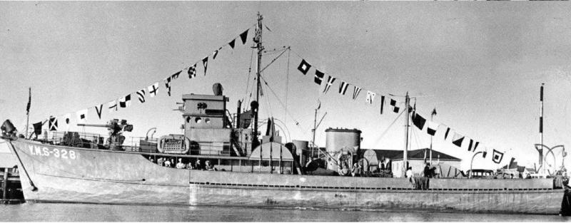 Тральщик «YMS-328»