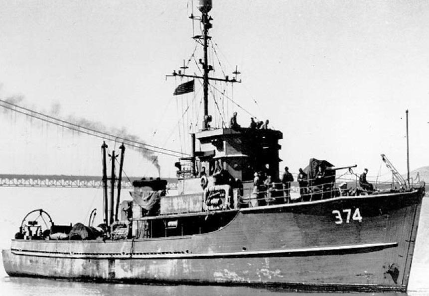 Тральщик «YMS-374»