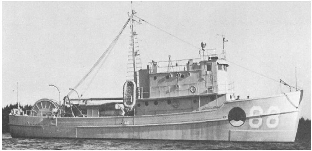 Тральщик «Bulwark» (AMc-68)
