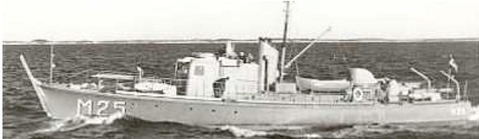 Тральщик «М-25»