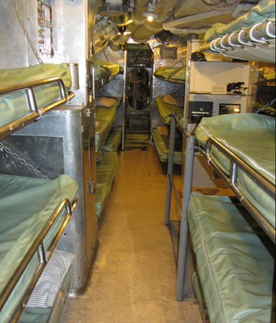 Жилой отсек подводной лодки «Torsk» (SS-423)