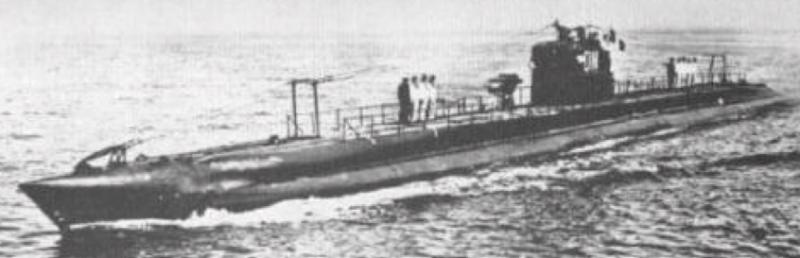 Подводная лодка «Danae»