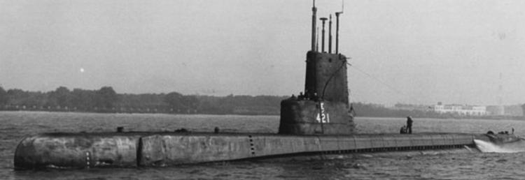 Подводная лодка «Trutta» (SS-421)