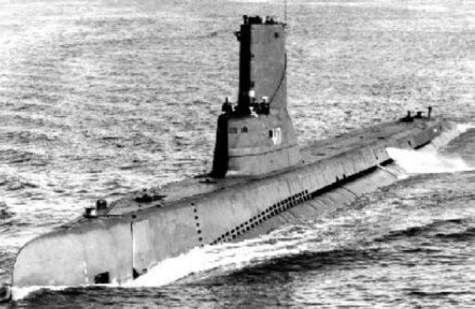 Подводная лодка «Tench» (SS-417)