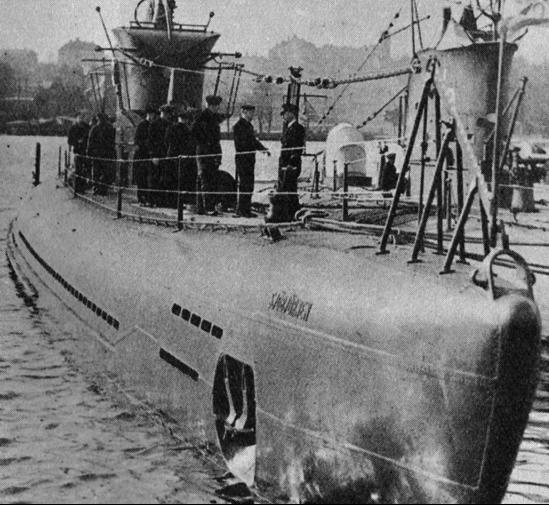 Подводная лодка «Sjöbjörnen»