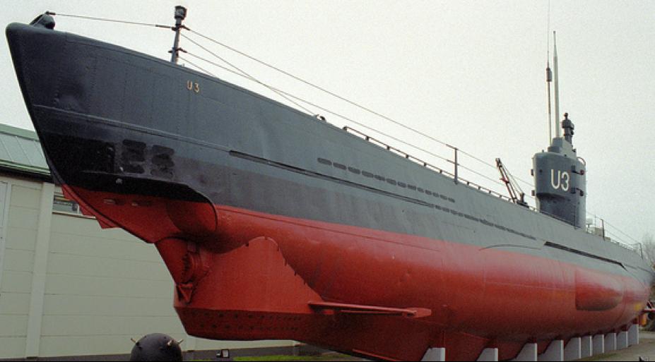 Корпус подводной лодки «U-3»