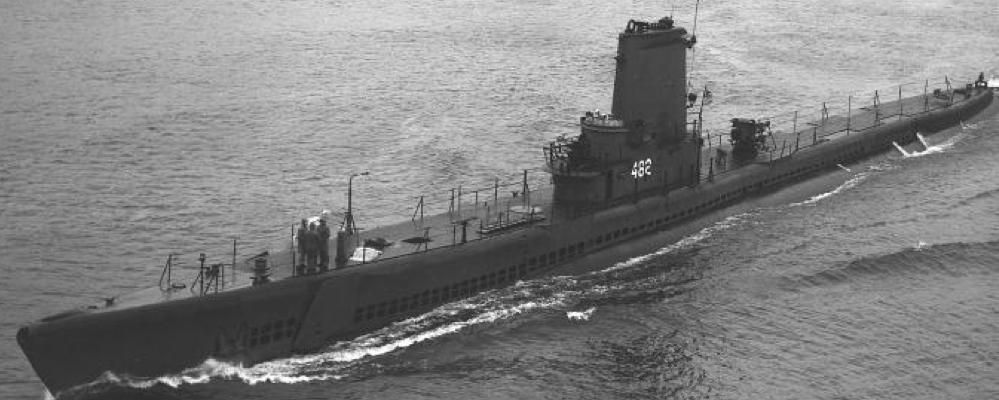 Подводная лодка «Irex» (SS-482)