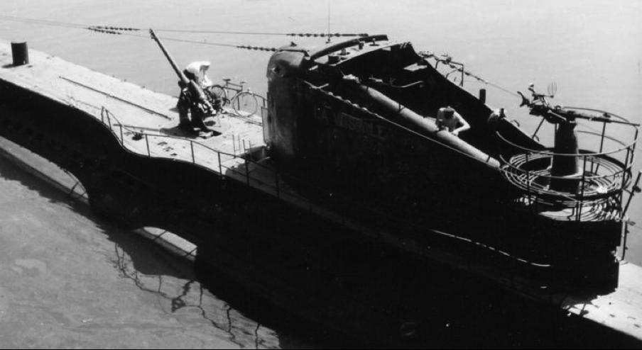 Подводная лодка «La Vestale»