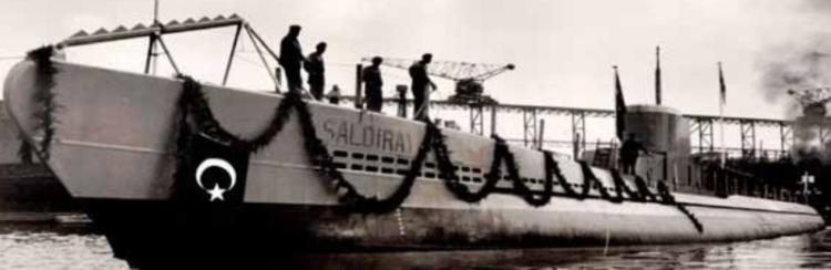 Подводная лодка «Saldıray»
