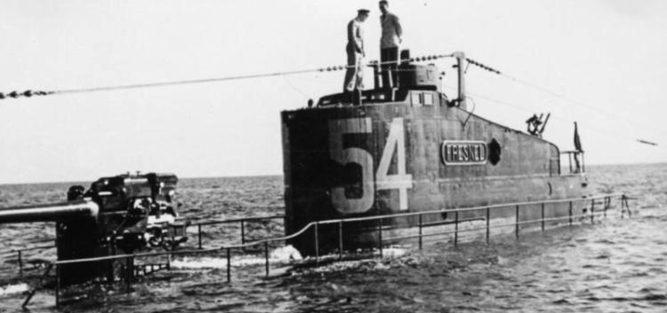 Подводная лодка «Le Fresnel»